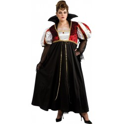 Royal Vampira Costume - Plus Adult
