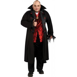 Royal Vampire Costume - Adult Plus