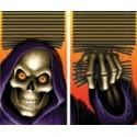 Grim Reaper Translucent Window Posters