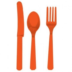 Orange Peel Cutlery Set (60 pcs)