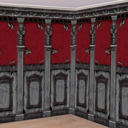 Gothic Mansion Room Rolls - 40ft