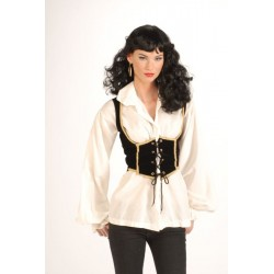 Female Pirate Vest - Adult