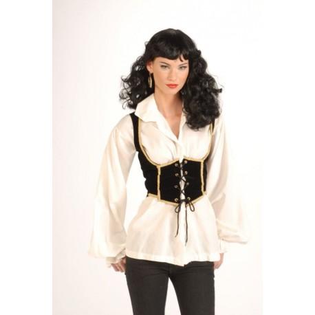 Female Pirate Vest - Adult