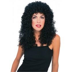 Extra Curly Black Wig  - Unisex