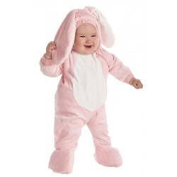 Pink Toddler Bunny Costume