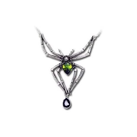 Emerald Venom Pendant & Chain