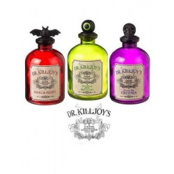 Dr. Killjoy's Dangerous Potion Bottles - Set of 3