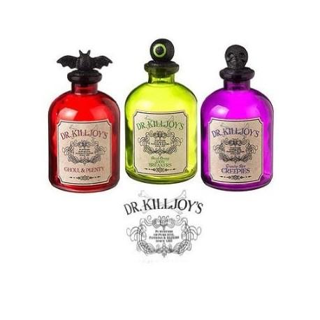 Dr. Killjoy's Dangerous Potion Bottles - Set of 3