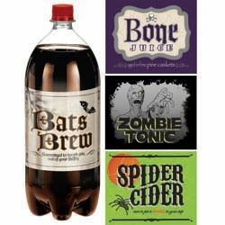 Shocktail Beverage Labels