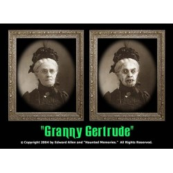 "Granny Gertrude 5""x7"" Changing Portrait"