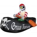 Airblown Pirate Raft
