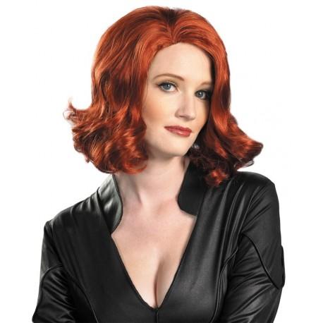 Avengers Deluxe Black Widow Wig