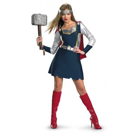 Avengers Adult Thor Girl Classic