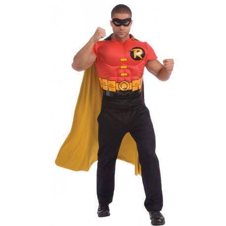Robin Muscle Shirt Cape