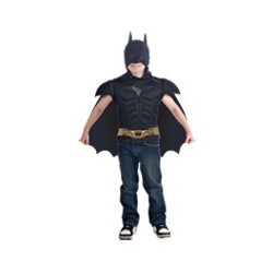 Batman Muscle Shirt Cape Child