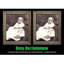 "Baby Bartholomew 5""x7"" Changing Portrait, Series Two"