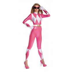 Sassy Pink Power Ranger Body Suit
