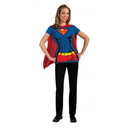 Supergirl Shirt with Cape