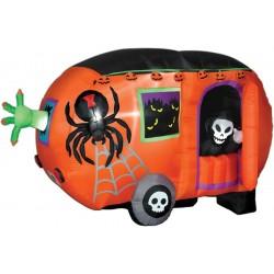 Airblown Halloween Camper