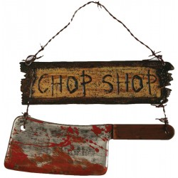 Chop Shop Sign