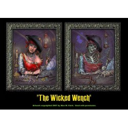 "The Wicked Wench 8""x10"" Changing Portrait"
