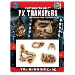 3D The Running Dead FX Transfer/Tattoo