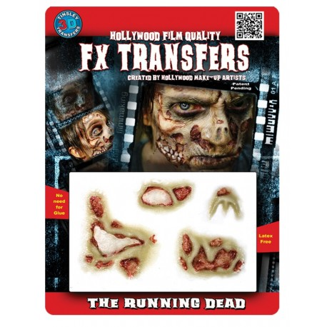 The Running Dead FX Transfer/Tattoo