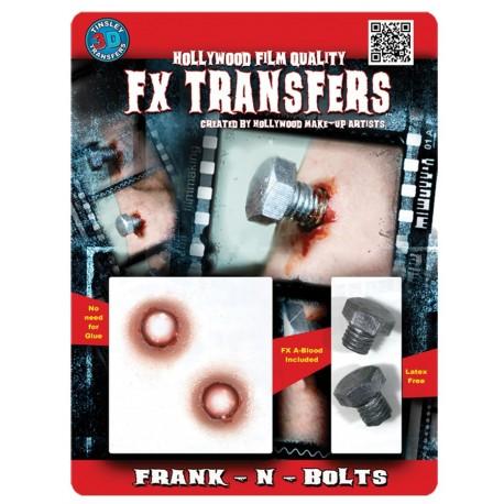 3D Franken Bolts Fx Transter/Tattoo
