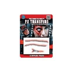 3D Zipperface FX Transfer/Tattoo