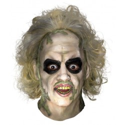 Beetlejuice Over the Head Mask
