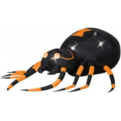 Airblown Animated Orange Spider