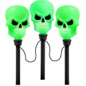 Colour Changing Pathway Lights - Skull