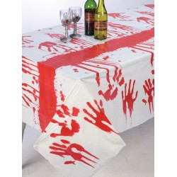 Bloody Hands Table Cloth