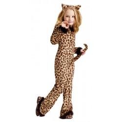 Pretty Leopard Costume Girl