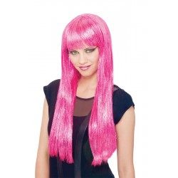 Glitzy Glamour Urban Future Wig - Pink