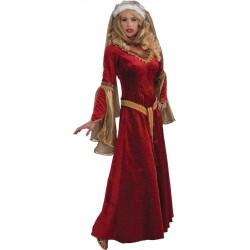 Scarlet Renaissance Adult Costume
