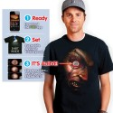 Frantically Moving Eye Ball T Shirt - Digital Dudz