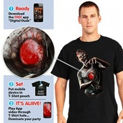 Beating Heart Zombie T-Shirt  Digital Dudz