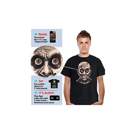Frantic Zombie Eyes T-Shirt