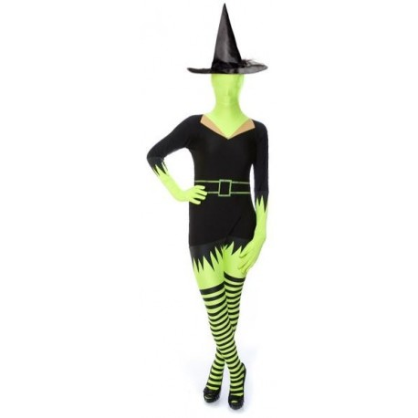 Adult Morphsuit - Green Witch