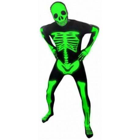 Adult Morphsuit - Skeleton Glow