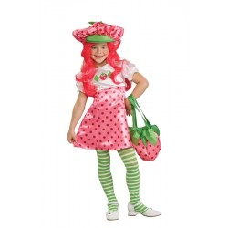 Deluxe Strawberry Shortcake Child Costume