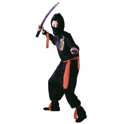 Black Ninja Costume - Child