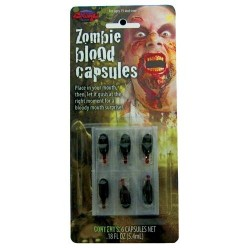 Blood - Zombie Blood Capsules