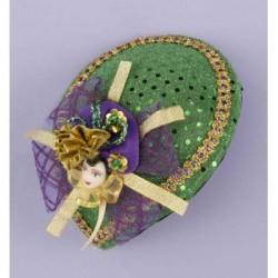Mardi Gras - Pretty Hats- Doll Face Hat
