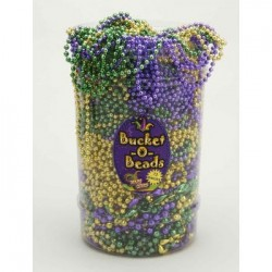 Mardi Gras - Bucket of Beads