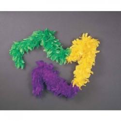 Mardi Gras Tri-Color Boa