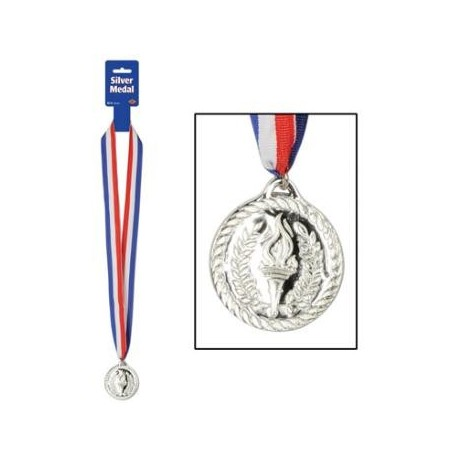 "30"" Award Medals - Silver"