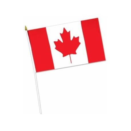 """Canada Flag Rayon 4x6"""""""