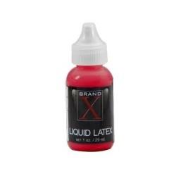 Brand X Liquid Latex 1oz - Red